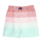 美國 RuffleButts 兒童泳褲/沙灘褲 - 寶貝條紋