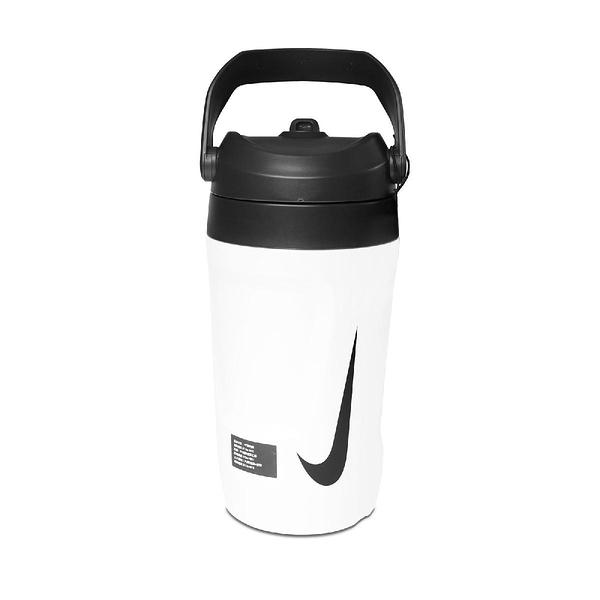 Nike 霸水壺 Fuel Jug 64OZ 白 黑 大容量 手提 運動 旅遊 1893ml 【ACS】 N000001312-1OS