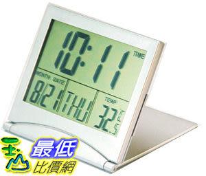 [有現貨 馬上寄] 超大液晶屏LCD時鐘 萬年歷時鐘 電子鐘 時鐘 鬧鐘、溫度計 (22609A_P42)