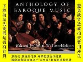 二手書博民逛書店Anthology罕見Of Baroque Music (nor