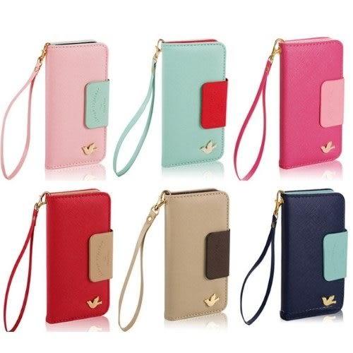 【zoo寵物商城】  韓國小飛鳥iphone5 5c翻開式皮套手機殼手機皮套