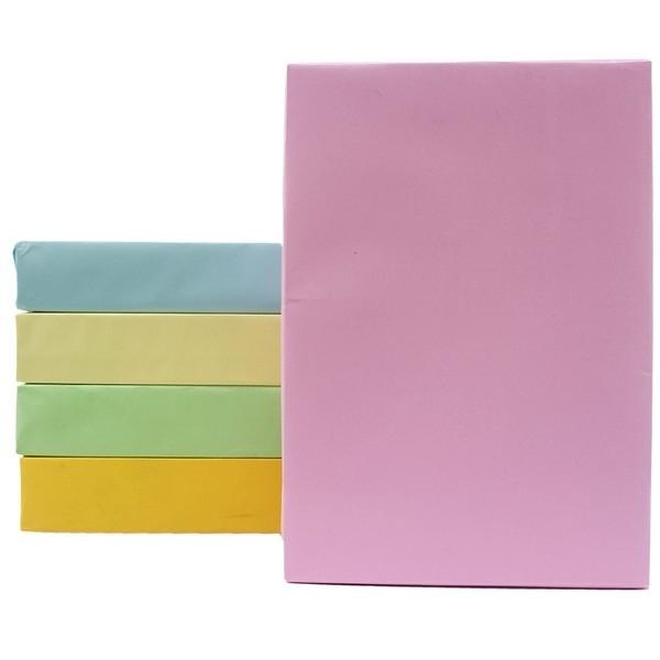A4 彩色影印紙 70磅/一包500張入(促175) 粉色系影印紙 噴墨紙 雷射紙 印表紙-亨-文
