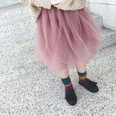 2018春季新款女童蓬蓬裙短裙 寶寶半身裙網紗裙公主裙【萬聖節鉅惠】