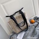 大包包女新款潮韓版大容量透明果凍側背包時尚休閒百搭托特包 黛尼時尚精品