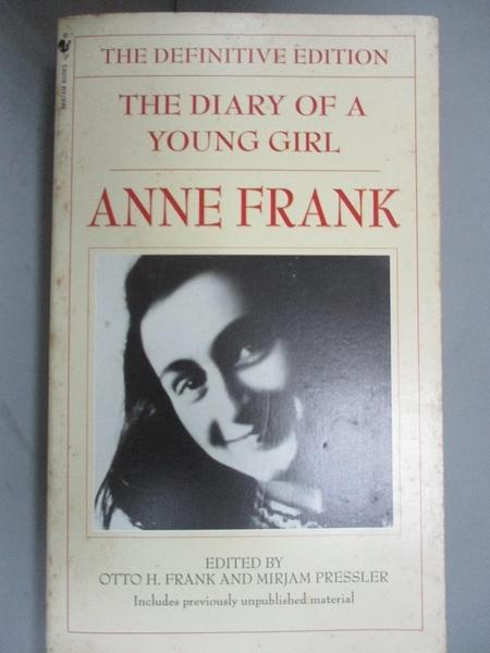【書寶二手書T8/原文書_IJL】The Diary of a Young Girl-The Definitive Edition_Frank, Anne