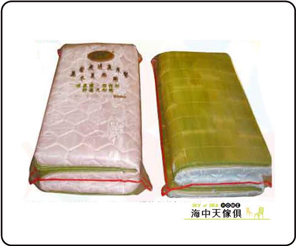 {{ 海中天休閒傢俱廣場 }}  B-68 摩登時尚 床墊系列 781-20 6x6尺緹花布刮清透氣墊