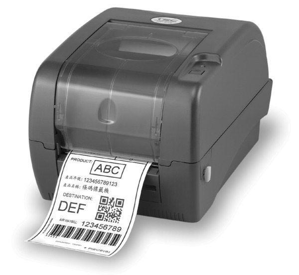 [贈外掛架]TTP-345 條碼機 標籤機 貼紙機 (姓名貼) 老鼠標(另售 TTP-244/T4e/os-214plus/QL-700/QL-1050)