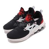 Nike 休閒鞋 React Presto 黑 紅 低筒 魚骨鞋 運動鞋 男鞋【ACS】 AV2605-002