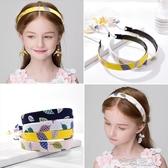 韓國兒童發飾女童假耳環發箍流蘇珍珠發卡公主寶寶帶齒防滑頭箍女 布衣潮人