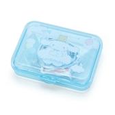 〔小禮堂〕大耳狗 日製造型貼紙組附盒《藍.雲朵》40枚入.裝飾貼.黏貼用品 4901610-03765