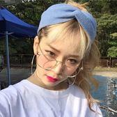 現貨-韓國ulzzang原宿復古眼鏡框特賣潮流小圓鏡眼鏡男女款大框平光鏡可配近視眼睛框架復古52