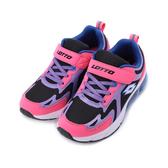 LOTTO LT20 氣墊跑鞋 紫桃 LT0AKR2257 大童鞋