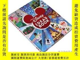 二手書博民逛書店DK迪士尼創意書罕見英文原版 Disney Ideas Book