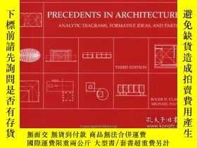 二手書博民逛書店Precedents罕見in Architecture: Ana
