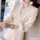 針織打底洋裝子女裝秋冬裝2020年新款輕奢名媛氣質修身內搭冬裙 黛尼時尚精品