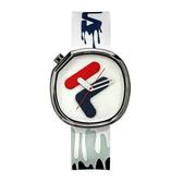 【FILA 斐樂】/經典LOGO手錶(男錶 女錶 )/38-162-302/台灣總代理原廠公司貨兩年保固