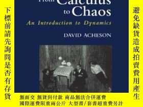 二手書博民逛書店From罕見Calculus To Chaos: An Introduction To Dynamics-從微積分