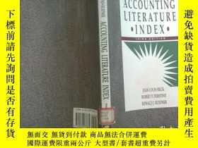 二手書博民逛書店ACCOUNTING罕見LITERATURE INDEX 館藏Y210251