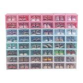 收納盒 透明鞋盒塑料鞋子收納盒 抽屜式盒子收納盒整理箱簡易