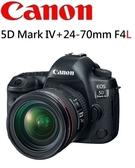 名揚數位 CANON 5D MARK IV 5D4 +24-70mm  F4  台灣佳能公司貨 (分12/24期)