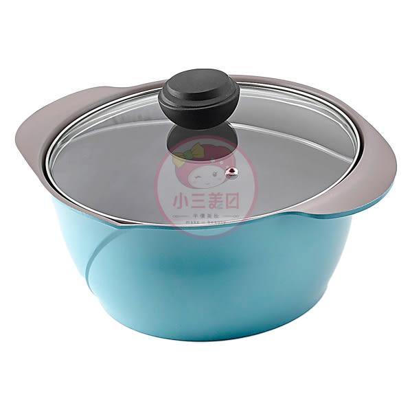 韓國 CHEF TOPF La Rose玫瑰鍋 雙柄燉鍋(透明蓋)24cm(1入)【小三美日】※限宅配 / 不沾鍋