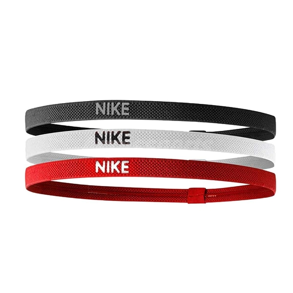 Nike 髮帶 Elastic Hairbands 黑 白 紅 男女款 頭帶 運動休閒 【ACS】NJN0494-5OS NJN0494-5OS