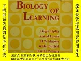 二手書博民逛書店ON罕見THE BIOLOGY OF LEARNING《論學習的生物學》Y335167 閱圖 閱圖