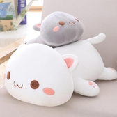 可愛貓咪毛絨玩具床上玩偶布娃娃欠揍貓公仔 cf