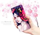 [A530F 軟殼] 三星 Samsung Galaxy A8 (2018) 手機殼 外殼 美女般若惡鬼