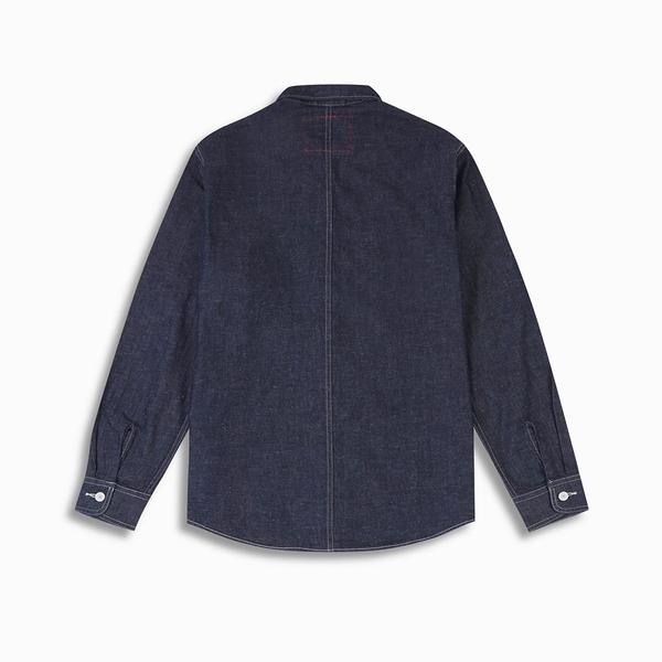 Levis Red 工裝手稿風復刻再造 男款 牛仔襯衫 / 休閒版型 / 原色 / 寒麻纖維