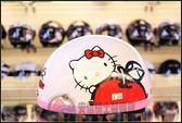 [中壢安信]EVO CA019 KITTY 白色 安全帽 碗公帽 雪帽