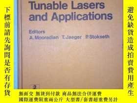 二手書博民逛書店tunable罕見lasers and applications