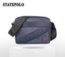 STATEPOLO 斜紋質感型男側背包 NO:1767