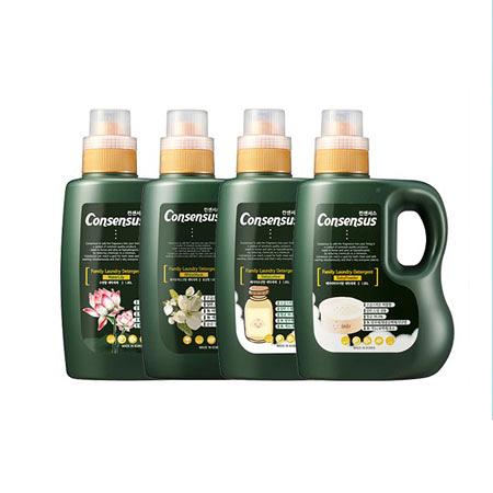 韓國 Consensus 康善秀 香氛洗衣精(綠色) 1.85L 洗衣精 衣物清潔 洗衣 清潔劑