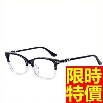 眼鏡架-輕盈舒適時尚全框男鏡框4色64ah31[巴黎精品]