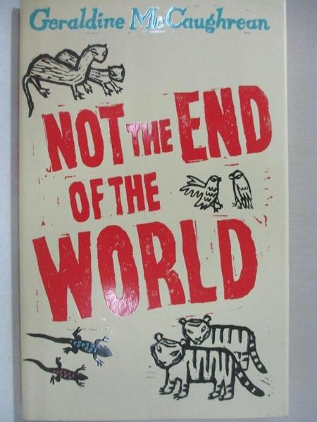 【書寶二手書T1/原文小說_JG4】Not The End Of The World ( Rare Proof Copy)
