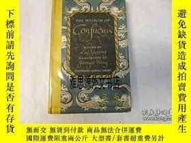 二手書博民逛書店【罕見】1943年出版 The wisdom of Confuc