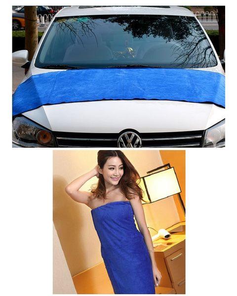 超大超細纖維60cmx180cm車用居家洗車毛巾-快速吸水款