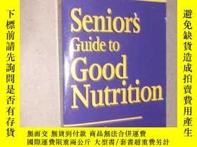 二手書博民逛書店Seniors罕見guide to good nutrition