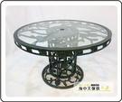 {{ 海中天休閒傢俱廣場 }} G-52 戶外時尚 鋁合金桌椅系列 11-1 120cm玫瑰大腳桌