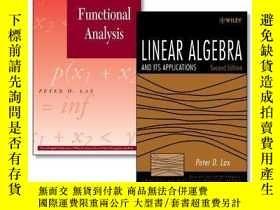 二手書博民逛書店罕見ar Algebra And Its Applications, Second Edition + Funct