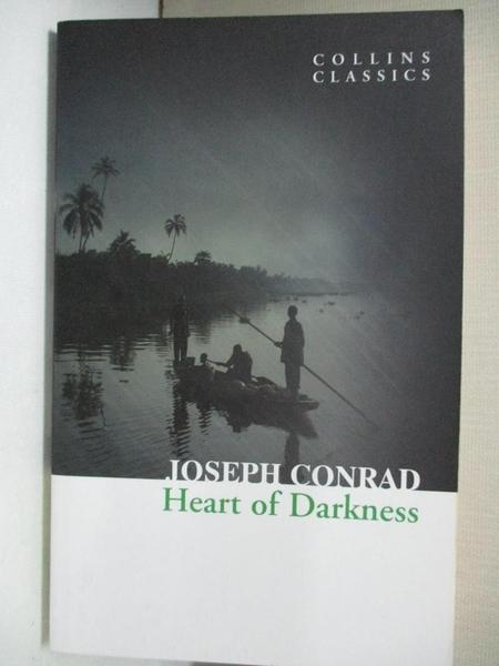 【書寶二手書T7/原文小說_GTI】Heart of Darkness_Joseph Conrad