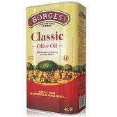 西班牙熱銷百格仕BORGES中味橄欖油4L【愛買】