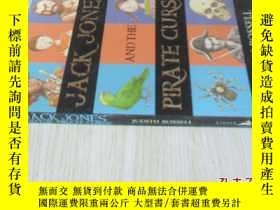 二手書博民逛書店英文原版罕見Jack Jones and the Pirate CurseY7215 Judith Rosse