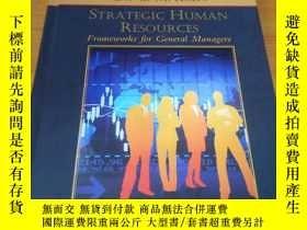 二手書博民逛書店Strategic罕見Human Resources: Fram