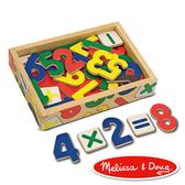 書立得-《美國 Melissa & Doug》 數學木質磁鐵貼 - 37 pcs