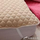 保潔墊 珊瑚絨床墊加棉防滑墊水洗薄床護墊保潔墊床褥子雙人YXS辛瑞拉