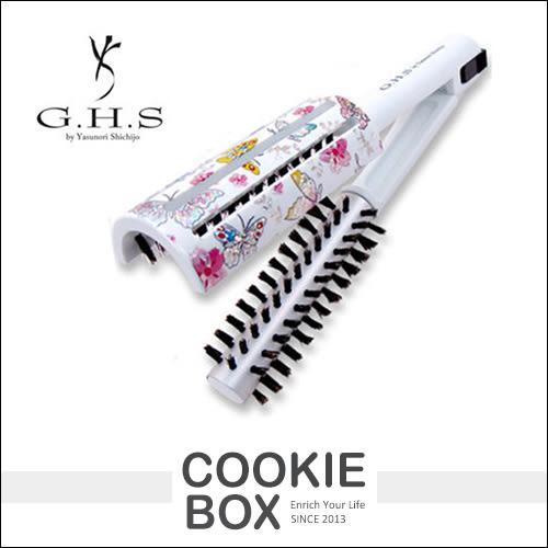 日本 GHS 內彎梳 梳子 圓梳 內彎 攜帶型 吹髮神梳 雙面 包伯 耐熱 美髮大師 七條慶紀 *餅乾盒子*