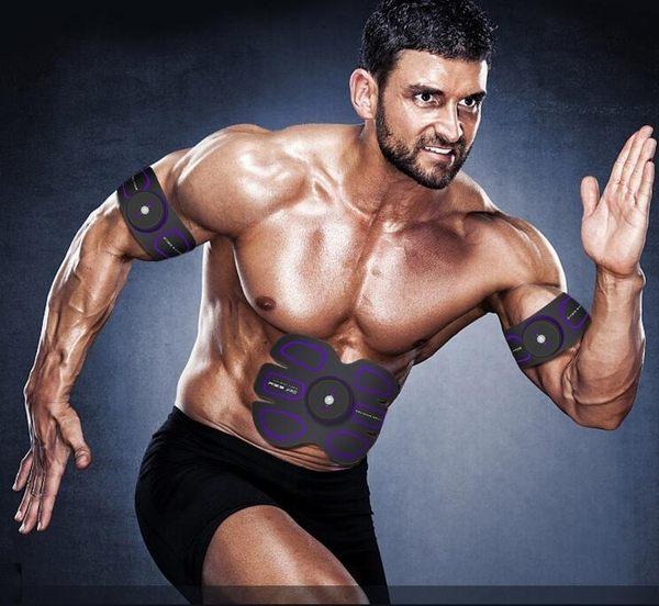 腹肌貼健身器材家用健腹器撕裂者懶人運動器智慧健身儀機     汪喵百貨