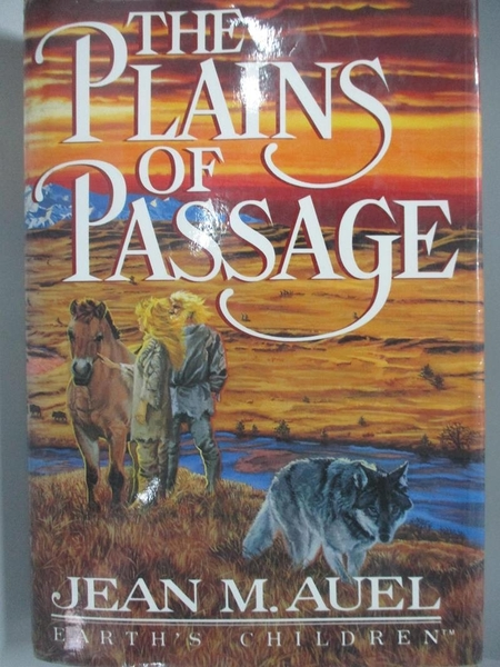 【書寶二手書T1/原文小說_DGK】The plains of passage_Jean M. Auel
